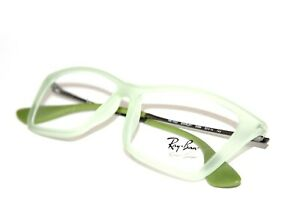 NEW RAY BAN RB 7022 5366 SHIRLEY AUTHENTIC MATTE GREEN EYEGLASSES RX 52-14-140