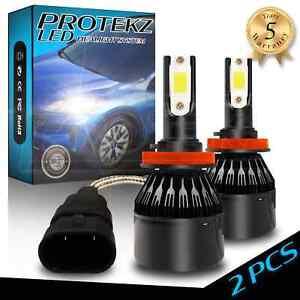 LED Fog Light Kit Protekz H1 6000K CREE for 2003-2005 Saab 9-5