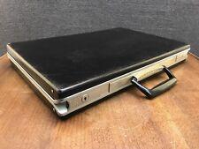 """Mid Century Modern Mad Men Samsonite Slim Thin Line Attache Case Briefcase - 3"""""""