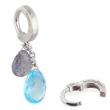 Natural Gem Cluster of Laboradite and Apitite TummyToys Belly Ring
