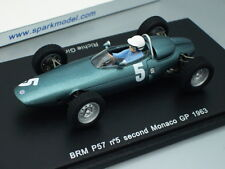 1/43 Spark BRM P57 #5 2nd MONACO GP 1963 G.GINTHER
