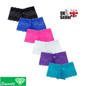 Sexy French Knickers G-string Thong Panties Lingerie Women Underwear Size 8-16
