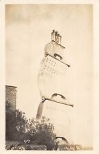 D76/ Guadelupe Mexico City Real Photo RPPC Postcard c1910 Stone Sails Monument
