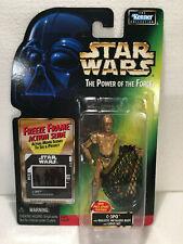 C-3PO w/Removable Limbs & Cargo Net/ Star Wars POTF Freeze Frame/1997/Coll1/Mitn