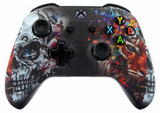 """Tiger Skull"" Xbox One S / X Rapid Fire 40 MOD Modded Controller for COD  & more"