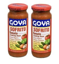Goya Sofrito Tomato Cooking Base Bottles 12 Oz each.Pack Of 2