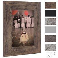 Bilderrahmen Rio Holz MDF Foto Poster Rahmen, Farbe Größe Wählbar, 40mm Breit