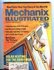 Mechanix Illustrated Magazine September 1974 Solar Heating 062817nonjhe