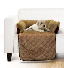 Couchage, paniers et corbeilles marrons pour chien