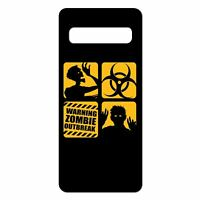 For Samsung Galaxy S10 PLUS Silicone Case Zombie Bio Chemical - S582