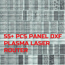 55 Vector Panel Art Dxf Cdr File Of Plasma Laser And Router Cut Metal Cnc