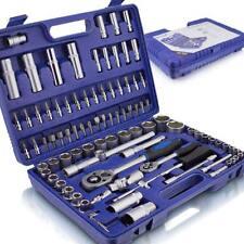 BITUXX® Werkzeugkoffer 94tlg. Knarrenkasten Ratschenkasten Nusskasten Bitsatz