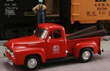New In Box Kansas City Southern Railroad 1/43 Scale 1953 Ford F-100 with RR Ties