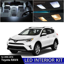8PCS White Interior LED Light Package Kit for 2006 - 2016 Toyota RAV4