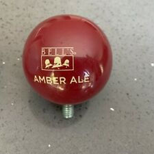 Bell's Brewery Amber Ale Ball Shaped Beer Tap Handle Topper Excellent Condition