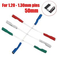 4Pcs OFC 7N Headshell Wires Set Silver Leads Phono Cartridge Cables Replacement