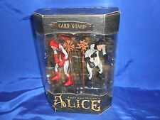 American McGee's Alice Card Guard 2 Figure Set HTF Open Complete EA Games 2000