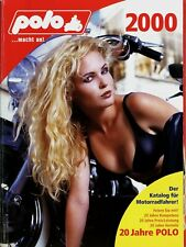 Polo Katalog 2000 768 S. Motorradzubehör Helme Jacken Handschuhe Protektoren u.a