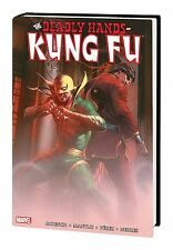 DEADLY HANDS OF KUNG-FU OMNIBUS VOL #1 HARDCOVER Dellotto VARIANT Iron Fist HC