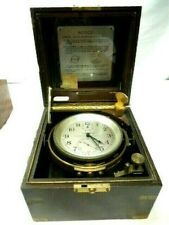 Hamilton Watch Co. model 21  U.S. Navy Chronometer clock, just serviced
