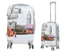 Maleta pequeña para cabina rígida fantasia London monumentos 4 ruedas dobles