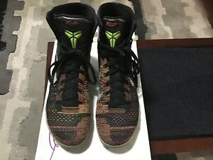 Kobe 9 Elite Shoes Masterpiece Mens size 11 multicolor flyknit w/ box