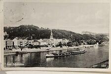10839 AK Bad Schandau Elbe Schlepper Schiff 1943 ship