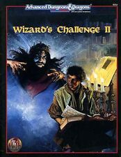 HHQ6 WIZARD'S CHALLENGE II EXC! AD&D D&D 2 Dungeons Dragons TSR Module Adventure