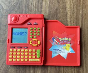 Pokemon Pokedex 1998 In Working Order