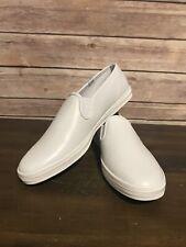 Keds Champion Slip On White Leather Size 8 Narrow New Without Box