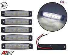 5 x 12 Voltaje LED Blanco Lateral Trasero Delantero Luces de marcaje para BUS