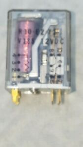 Potter & Brumfield R10-E2-Y2-V185 DPDT 12VDC 2a  pcmt relay FREE SHIPPING !