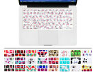 Flower Floral Silicone Keyboard Cover Skin Protector for Macbook Pro Air13 15 17