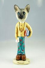 Female Teacher Siamese Cat -See Interchangeable Breeds & Bodies @ Ebay Store