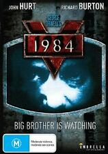 1984 ( JOHN HURT - RICHARD BURTON - GEORGE ORWELL'S ) DVD  NEW AND SEALED