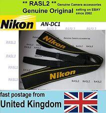 New Genuine Original Nikon Neck Shoulder Strap D1 D2 D3 D4 S H X D90 D100 D200
