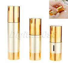 Airless Pump Bottles Portable Vacuum Cosmetic Treatment Pump Travel 15/30/50ml