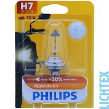 H7 PHILIPS Vision Moto - 30% Mehr Licht Vibratrionsfest NEW
