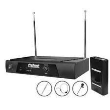 Prosound N48QR AURICULAR VHF y Clip de Corbata Micrófono Inalámbrico Kit Inc Garantía