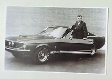 "1967 Shelby GT350 Mustang Promo Picture 11x17"" Reprint Garage Decor"