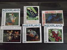 Nederland 2013  Kikkers 1 t/m 6   frogs frosh postfris/mnh