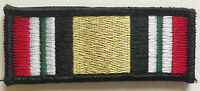 Tactical IRAQ CAMPAIGN MEDAL ribbon Morale PATCH