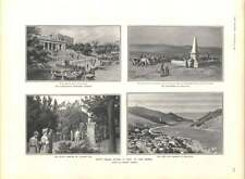 1905 A visita alla Crimea Balaclava Sebastopol Cathcart Hill