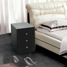 Glass 61cm-65cm Height Bedside Tables & Cabinets