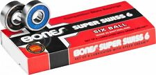 BONES SKATEBOARD BEARINGS Super Swiss 6 (6 ball) NEW - FAST BEARINGS - FREE POST