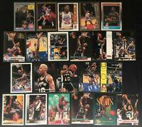 Dennis Rodman -22 Card lot-DET-SAS- NBA Hoops/Skybox/Fleer/Topps/Upper Deck