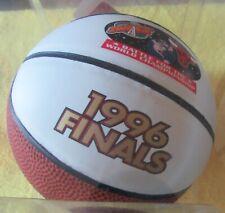 CHICAGO BULLS & SEATTLE SUPERSONICS JORDAN MVP 1996 NBA FINALS MINI BASKETBALL -
