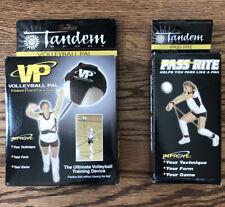 Tandem Sport Volleyball Training Bundle (Volleyball Pal + Pass Rite)