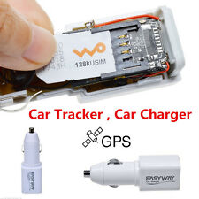 Real Time GPS Tracker GSM GPRS System Car Charger Tracking Device Mini Spy Handy