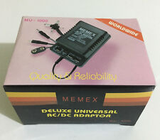 Universal AC/DC Adaptor MU-1000 1000mA - 18W Memex